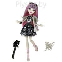 Кукла Monster High Рошель Гойл Серия: Базовая с питомцем