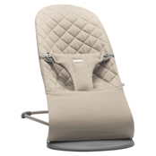 Кресло-шезлонг BabyBjorn Bliss Cotton Sand gray 0060.17