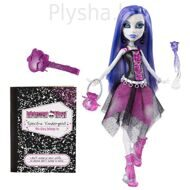 Кукла Monster High Спектра Вондергейст Серия: Базовая с питомцем