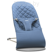 Кресло-шезлонг BabyBjorn Bliss Cotton Midnight blue 0060.15