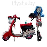 Кукла Monster High Гулия Йелпс Серия: Базовая с питомцем