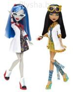 Куклы Monster High Клео де Нил и Гулия Йелпп Серия: В Классе
